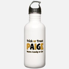 Paige Trick or Treat Water Bottle