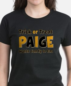 Paige Trick or Treat T-Shirt