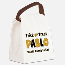 Pablo Trick or Treat Canvas Lunch Bag