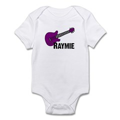 Raymie Guitar Gift Infant Bodysuit