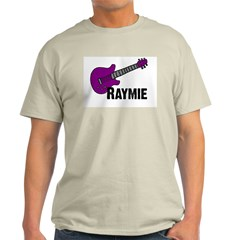 Raymie Guitar Gift Ash Grey T-Shirt