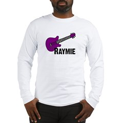 Raymie Guitar Gift Long Sleeve T-Shirt