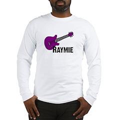 Raymie Guitar Gift Long Sleeve T-Shirt