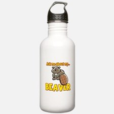 Funny Ask Me About My Beaver Humor Design Stainles