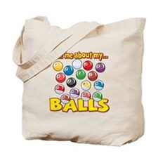 Funny Ask Me About My Balls Pool Billiards Humor T