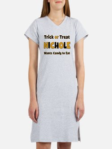 Nichole Trick or Treat Women's Nightshirt