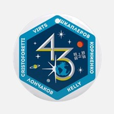 Expedition 43 Ornament (Round)