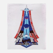 Expedition 41 Throw Blanket