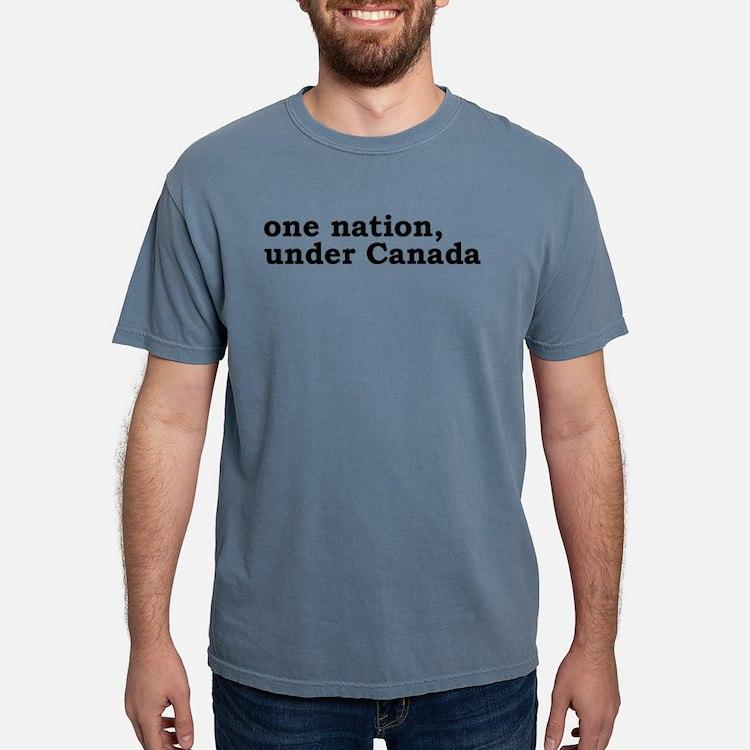 Cute Flag pledge atheist Mens Comfort Colors Shirt