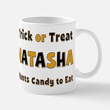 Natasha Trick or Treat Mug