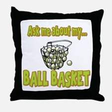 Funny Ask Me About My Ball Basket Golf Innuendo Th