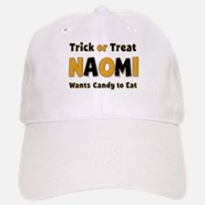 Naomi Trick or Treat Baseball Baseball Baseball Cap