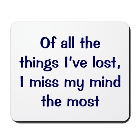 Things I've Lost Mousepad