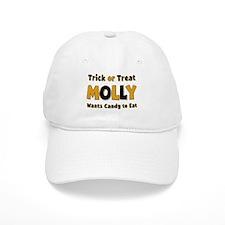 Molly Trick or Treat Baseball Baseball Cap