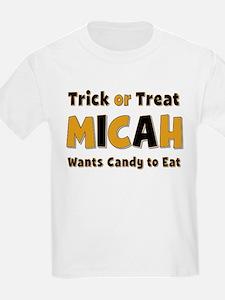 Micah Trick or Treat T-Shirt