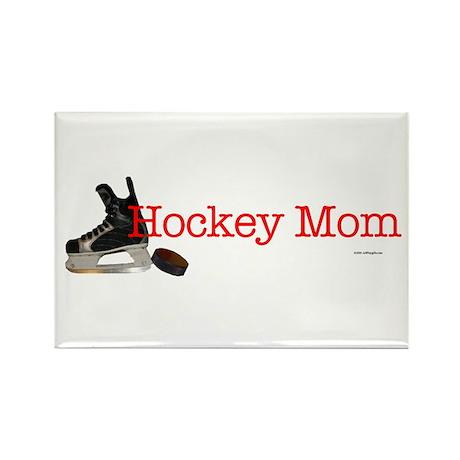 Hockey Mom Rectangle Magnet