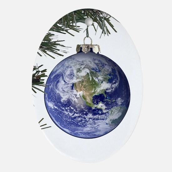 World Ornament Oval Ornament