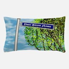 personalizable vintage street Pillow Case