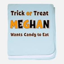 Meghan Trick or Treat baby blanket