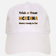 Mckenna Trick or Treat Baseball Baseball Baseball Cap