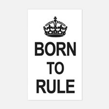 Born to Rule Decal