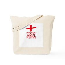 POSITIVE ABOUT POSITIVE 2 Pro Tote Bag