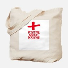 POSITIVE ABOUT POSITIVE 2 Pro Tote Bag