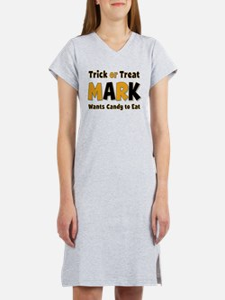 Mark Trick or Treat Women's Nightshirt