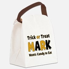 Mark Trick or Treat Canvas Lunch Bag