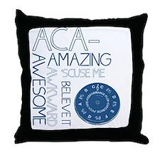 ACA-WHAT Throw Pillow