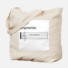 Music Improvisation Tote Bag