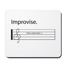 Music Improvisation Mousepad