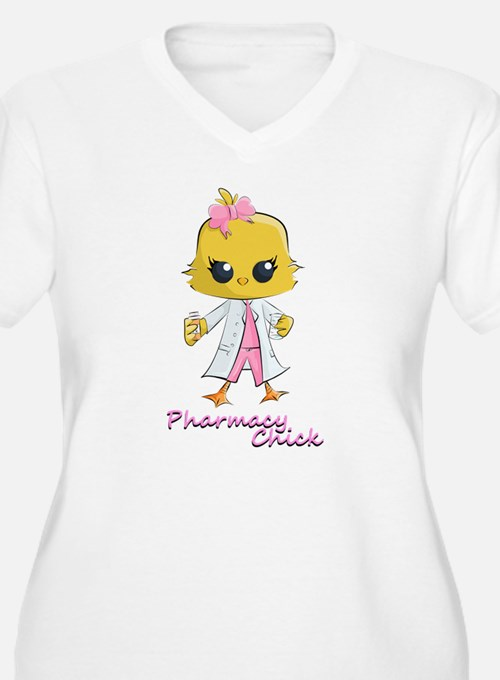 Pharmacy Chick Plus Size T-Shirt
