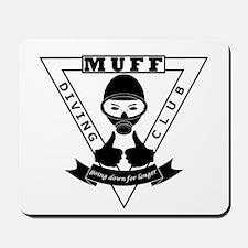 MUFF diving club logo shop Mousepad