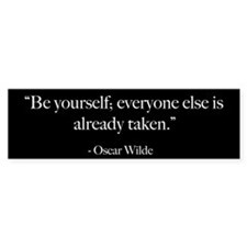 Be Yourself - Oscar Wilde Quote