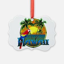 Hawaiian Sunset Ornament
