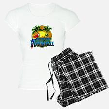 Hawaiian Sunset Pajamas