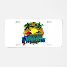 Hawaiian Sunset Aluminum License Plate
