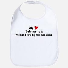 My Heart: Wildland Fire Fight Bib