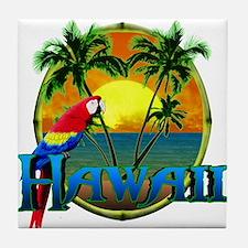 Hawaiian Sunset Tile Coaster