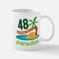 48th Anniversary Paradise Mug