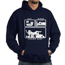 Eat Sleep Crowd Surf Hoody