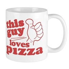 This Guy Loves Pizza Mug