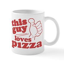 This Guy Loves Pizza Mug