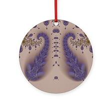 Fractal 1 Round Ornament