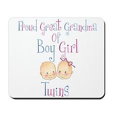 Proud Great Grandma BG Mousepad