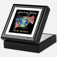 Navy - SOF - Seal Team 6 - American Heroes Keepsak