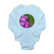 Hummingbird Clearwing Long Sleeve Infant Bodysuit