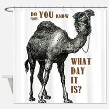 Do You Know What Day It Is Shower Curtain