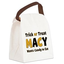 Macy Trick or Treat Canvas Lunch Bag